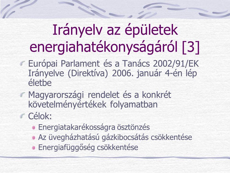 Irányelv az épületek energiahatékonyságáról [3]